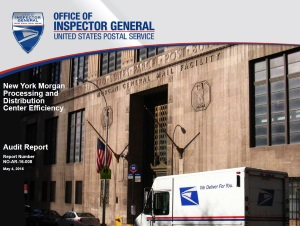 New York Morgan Processing and Distribution Center Efficiency | USPS