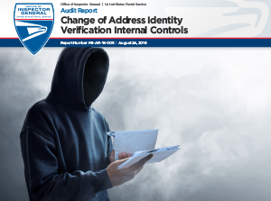 Thummbnail image of the Change of Address Identity Verification Internal Controls report.