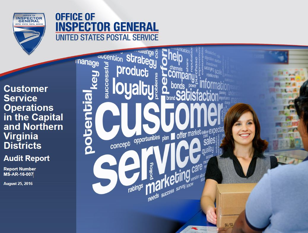 Customer Service Operations in the Capital and Northern Virginia ...