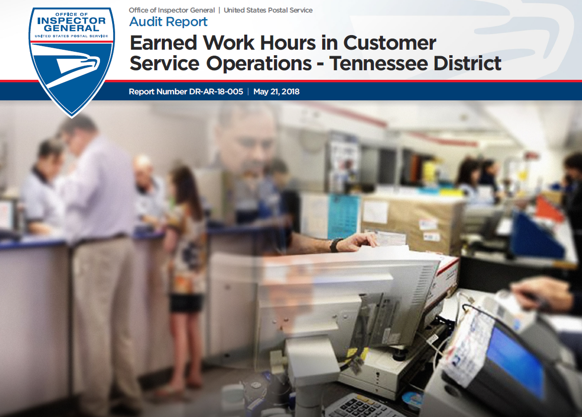 Earned Work Hours in Customer Service Operations – Tennessee