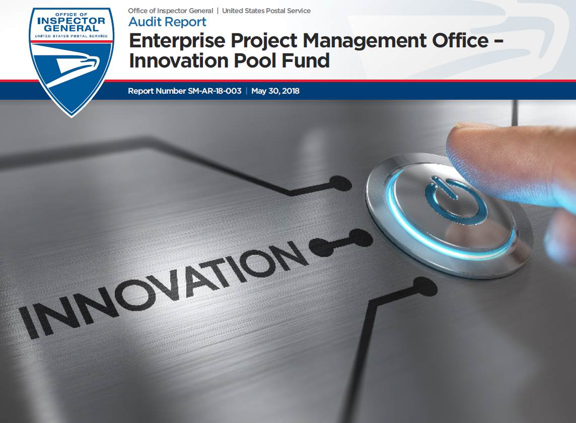 Enterprise Project Management Office Innovation Pool