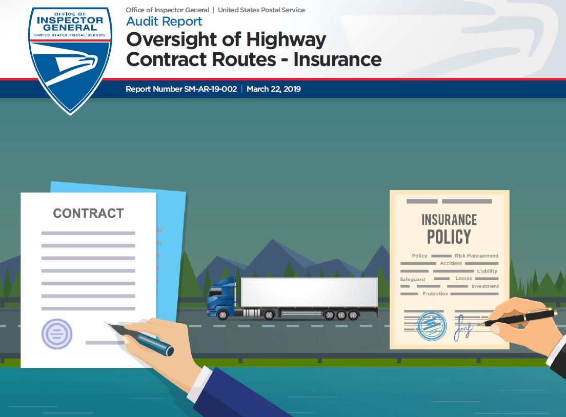 Oversight of Highway Contract Routes – Insurance | USPS Office of