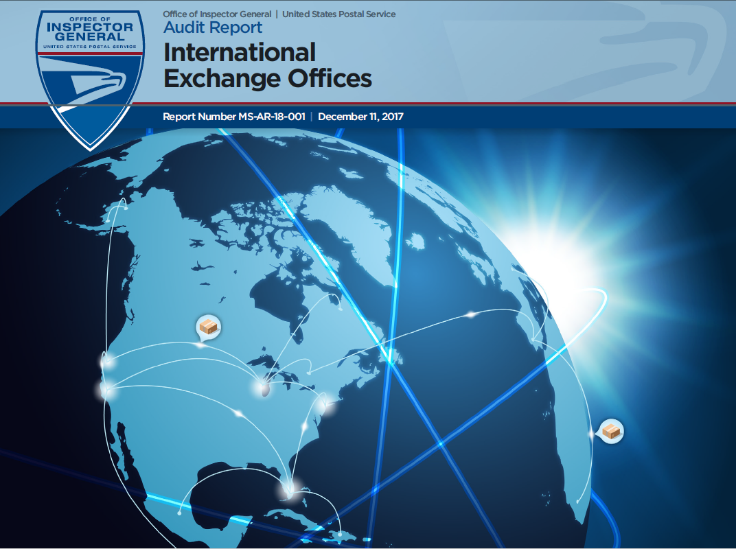 International Exchange Offices | USPS Office of Inspector