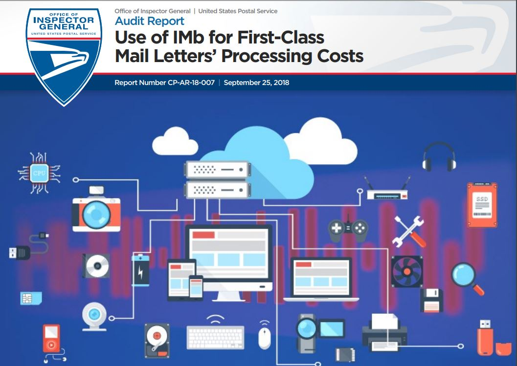 Use of IMb for First-Class Mail Letters' Processing Costs
