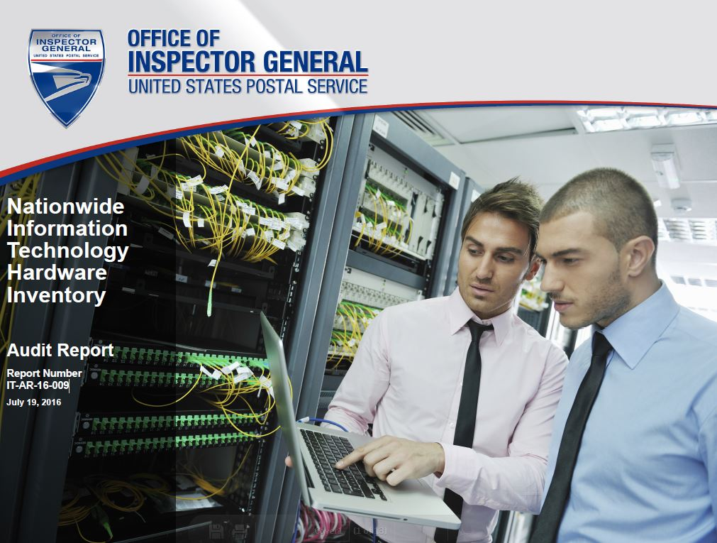 Nationwide Information Technology Hardware Inventory | USPS Office ...