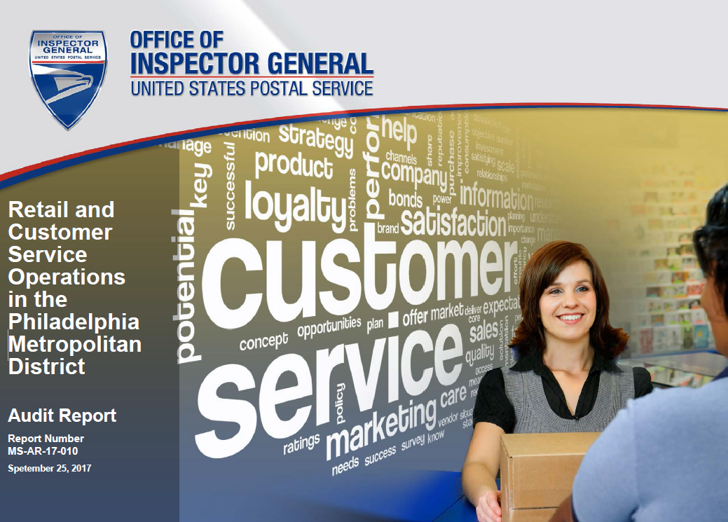 Retail and Customer Service Operations in the Philadelphia