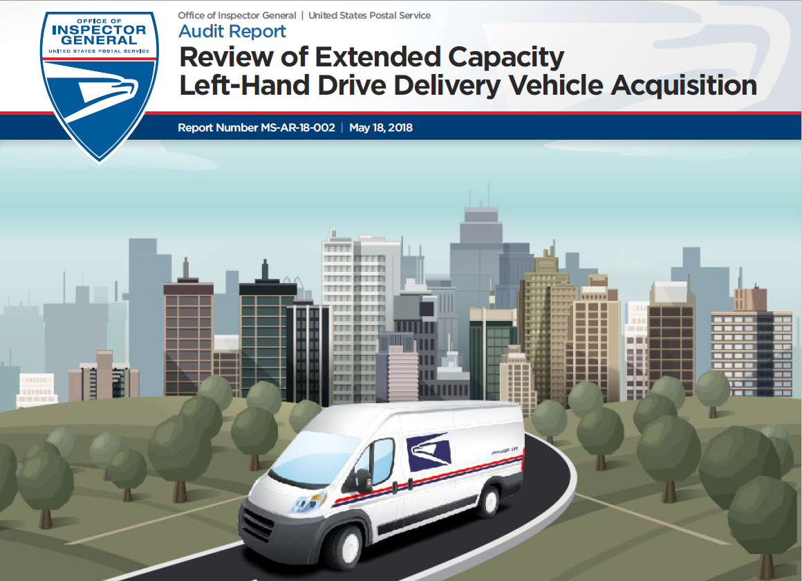 Review of Extended Capacity Left-Hand Drive Delivery Vehicle ...