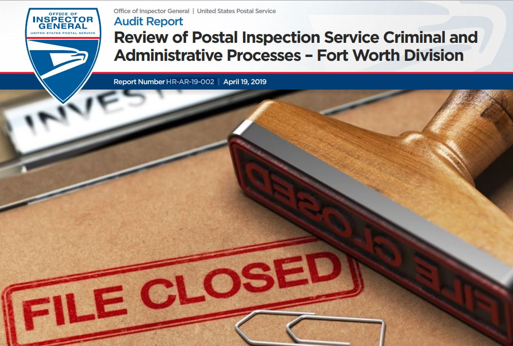Review of Postal Inspection Service Criminal and