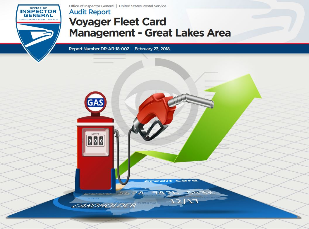 Voyager Fleet Card -Great Lakes Area report cover