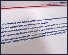 Should the Postal Service Monitor Packaging Supplies?   USPS