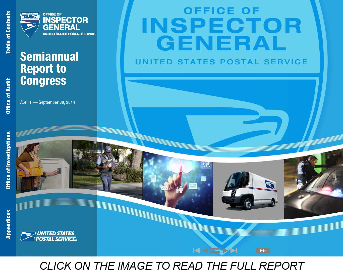 USPS OIG: Semiannual Report to Congress – April 1